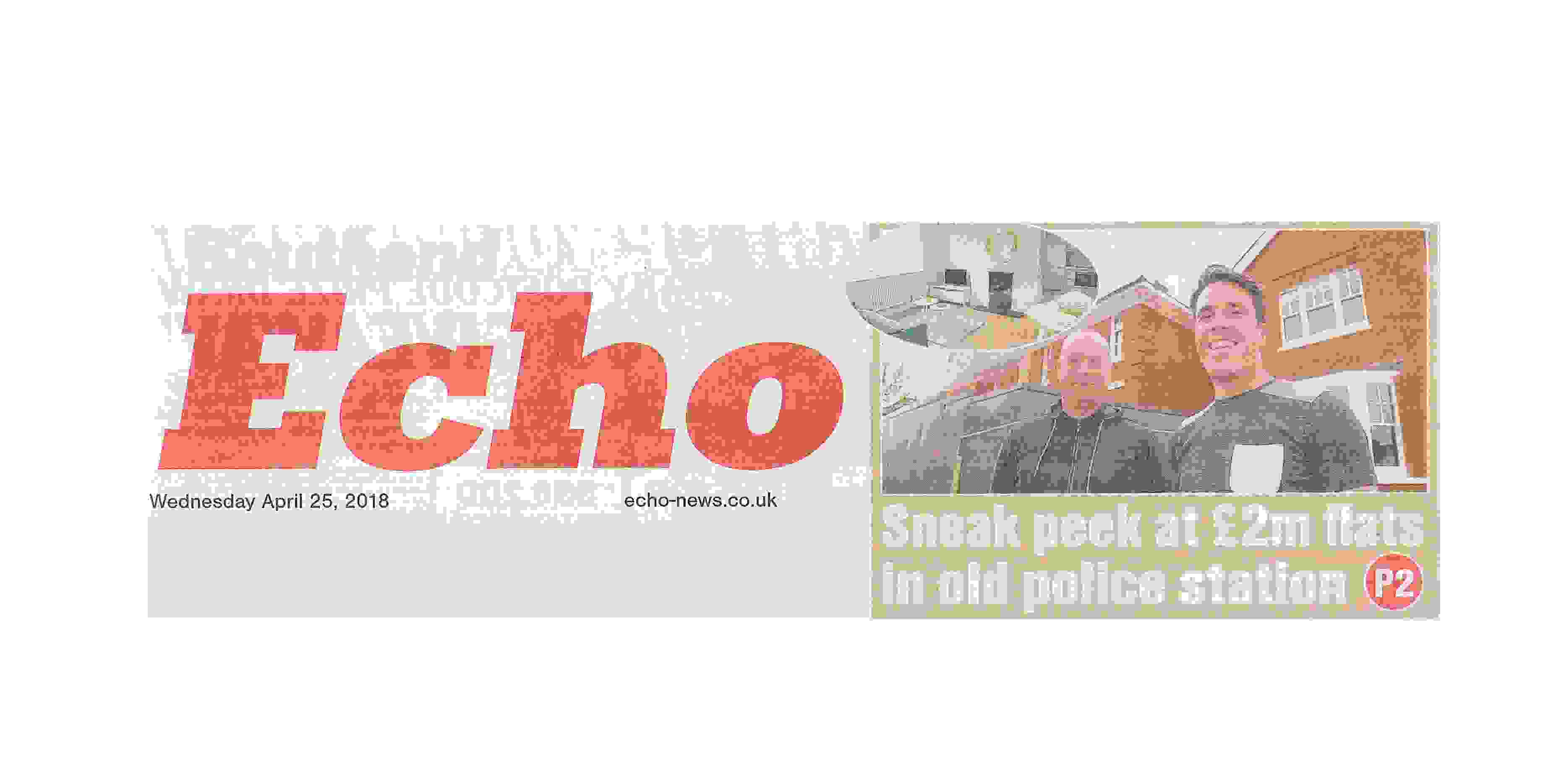 Westcliff Police Station featured in Southend Echo